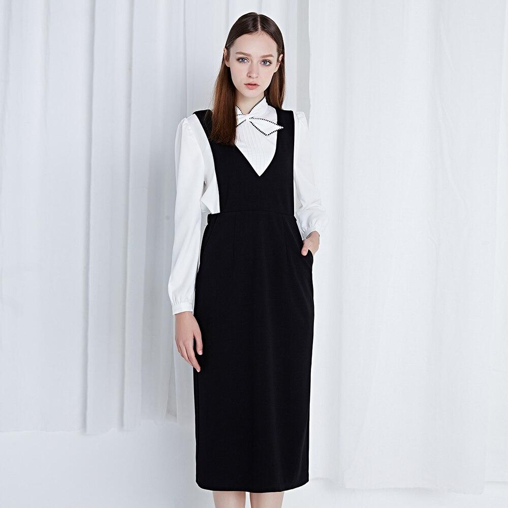 6fc2147192ef8 Bahar özelleştirmek Artı Boyutu 3XS-10XL siyah elastik bel kolsuz V Yaka  Tankı elbise geri yarık kadın midi-buzağı yelek elbise