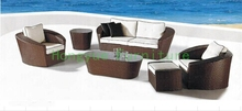 Outdoor garden wicker sofa set furniture,outdoor sets