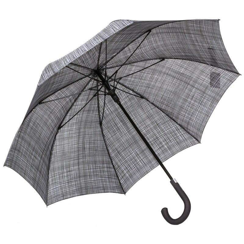 Новинка 2017 года Parachase большой длинный зонтик дождь Ветрозащитный большой Зонты полуавтоматическая изогнутой ручкой качество Paraguas Водонепроницаемый