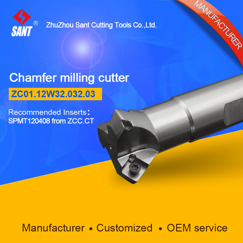Refer to CMZ01-032-XP32-SP12-03 or ZC01.12W32.032.03 Chamfer Milling Tools for Inserts SPMT120408 refer to cmz01 032 g32 sp12 03 or zc01 12z32 032 03 chamfer milling tools for inserts spmt120408