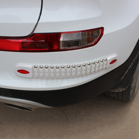 Car-styling Rubber Automobiles Accessories Car Crash Bar Trim Protection Strips Sticker Car Bumper Protector Guard Corner Strip Pakistan