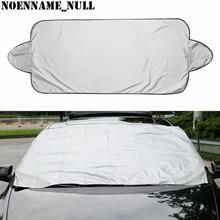 NoEnName_Null Voorkomen Sneeuw Ijs Zonnescherm Stof Vorst Bevriezing Auto Voorruit Cover Protector