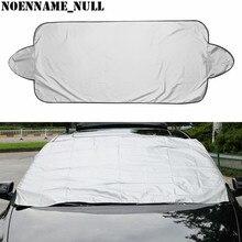 Noenname_null evitar neve gelo sol sombra poeira geada congelamento pára brisa do carro capa protector