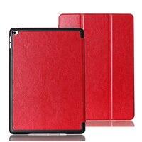 3-Folder Ultra Slim Crazy Horse Patronen Magnetische Folio Stand Leather Case Smart Cover Voor Apple iPad Air 2 Air2 iPad6 6 9.7