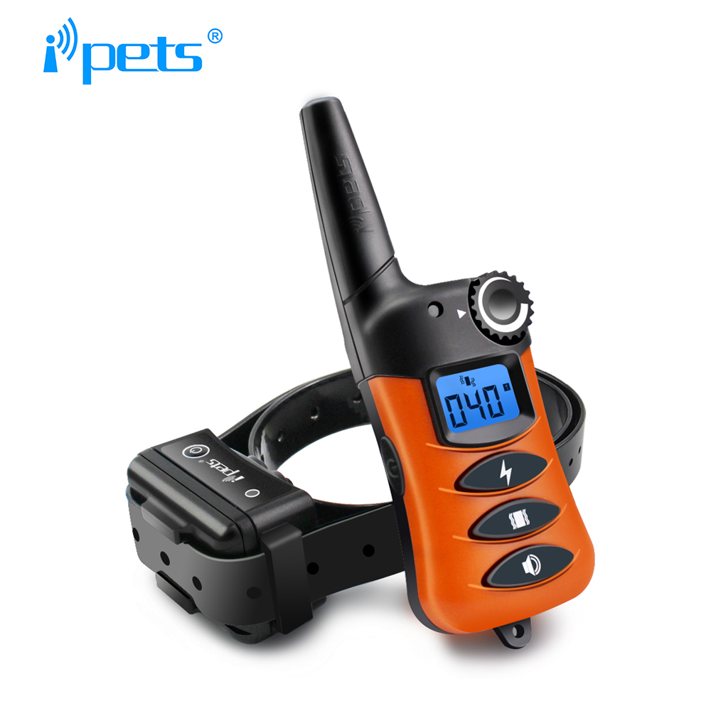 IPets 620-1 Waterproof And Rechargeable Electric Dog Training Collar 200m Remote Training Collar Bark Dog Collar