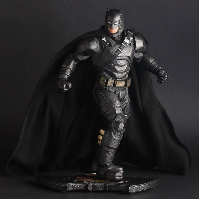 Free Shipping 12 DC Hero Batman VS Superman Batman Heavy Armor CT Ver. Boxed 30cm PVC Action Figure Collection Model Doll Toy free shipping 6 comics dc superhero shfiguarts batman injustice ver boxed 16cm pvc action figure collection model doll toy