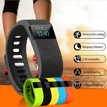 Chiclits TW64 Smart Напульсники Фитнес трекер Bluetooth SmartBand Спорт Шагомер Браслет для iPhone IOS Android