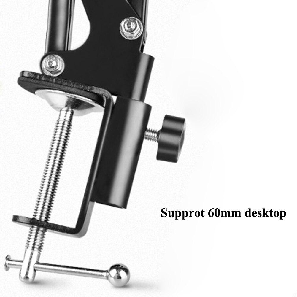 Unterhaltungselektronik Flexible Mikrofon Mic Ständer Zubehör Kunststoff Clamp Clip Halter Halterung Schwarz 100% Garantie