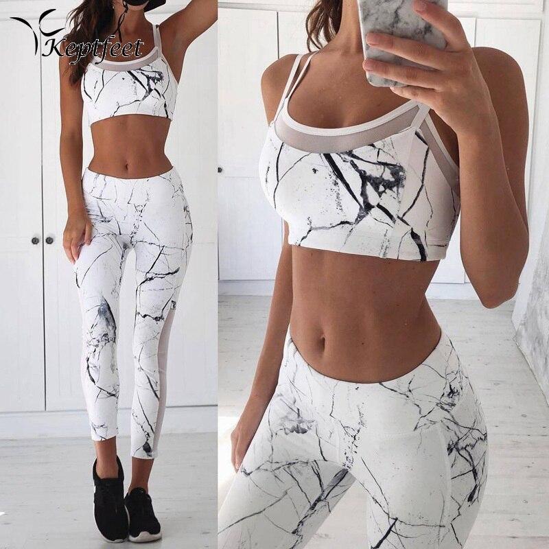 Vest Tank Top Leggings Tracksuit Clothing Fitness White