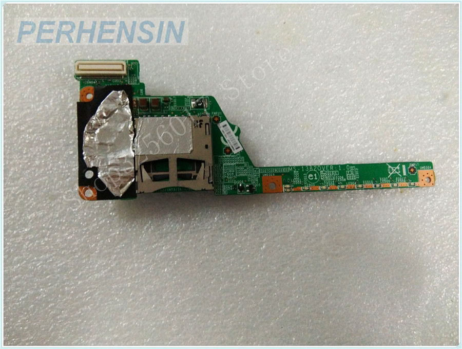 Original Genuine laptop FOR MSI FOR MS-13821 MS-1382 MS-13820 SD READER CARD Optical Drive Interface BOARD genuine laptop for msi for ms 13581 ms 1358 sd reader usb vga board ms 1358b