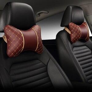 Image 5 - Zagłówek samochodowy poduszka pod kark cztery pojazd podłokietnik do siedzenia głowa poduszka szyi ochrona szyi poduszka na