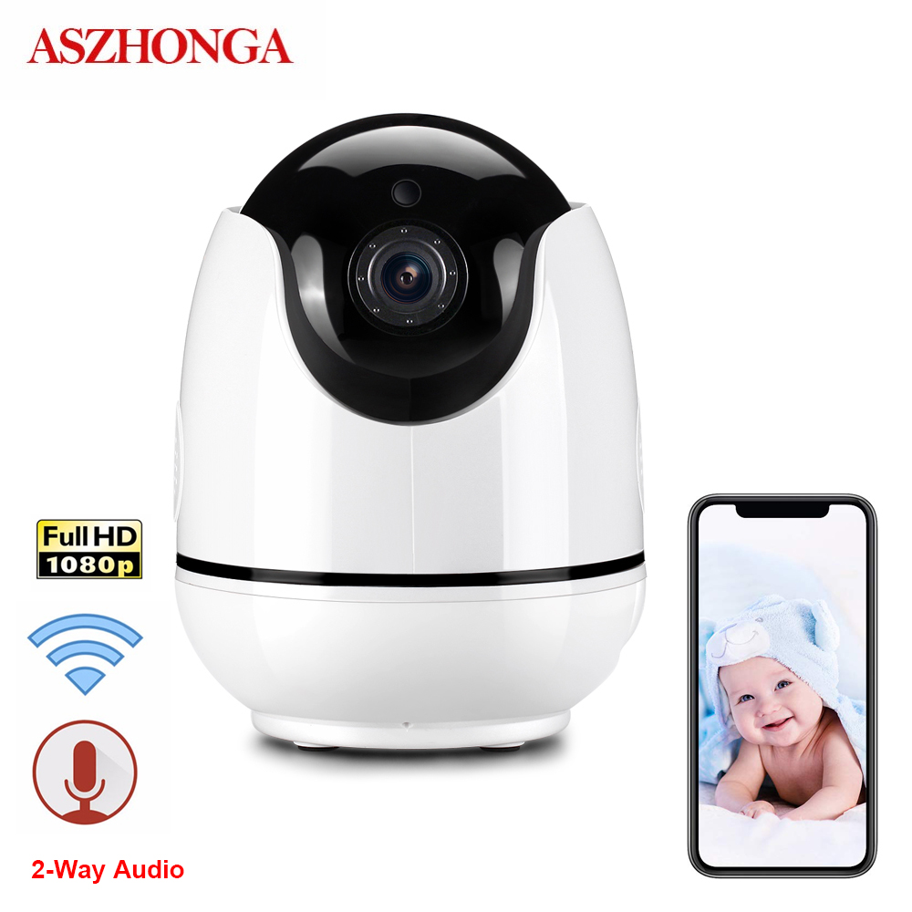HD 1080P PTZ IP Camera Auto Tracking Human Home Baby Security Surveillance CCTV Camera 2MP Night