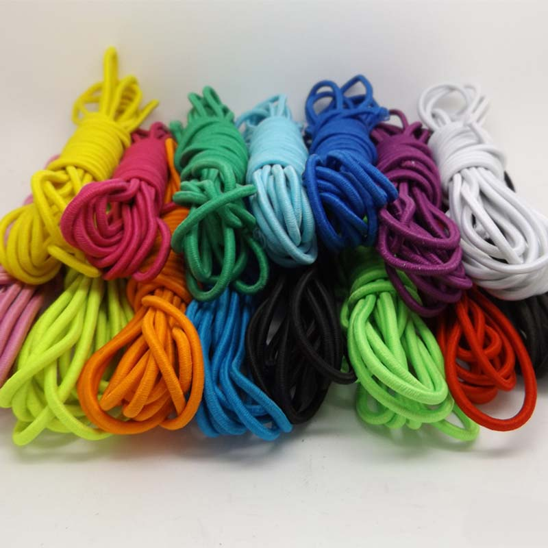 5yards /lot Colors Choice Round <font><b>Elastic</b></font> <font><b>Cord</b></font> about <font><b>2mm</b></font> for DIY Jewelry Bracelet Making Supplies image