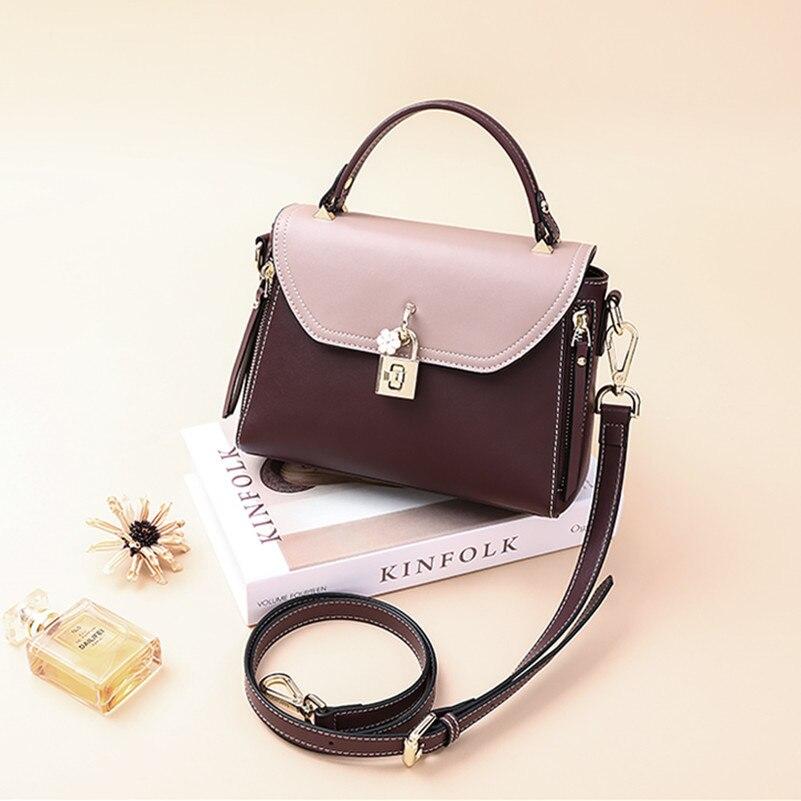 2018 new tide fashion CROISETTE shoulder bag female Women s handbags wild  Messenger bag free shipping fashion 2e37604625