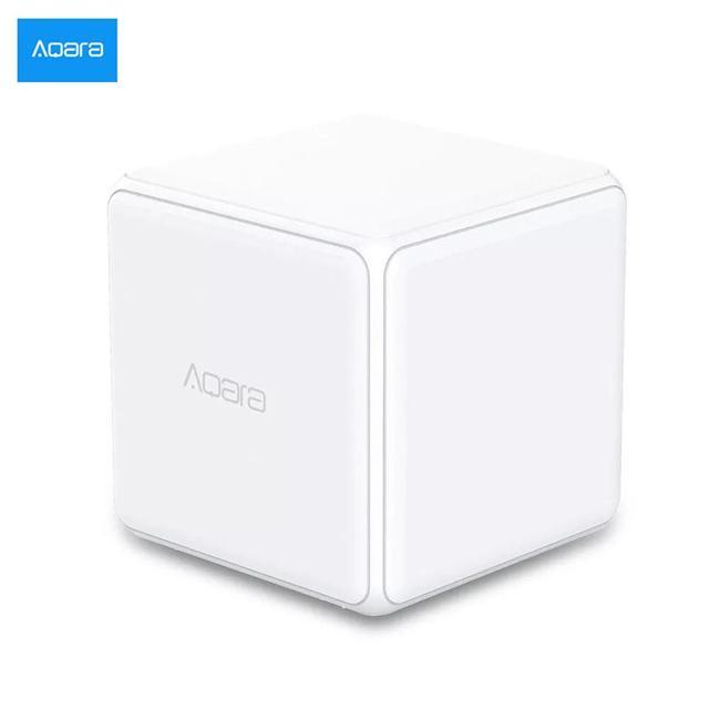 Aqara Magic Cube รีโมทคอนโทรลเซ็นเซอร์หกการทำงานทำงานร่วมกับ GATEWAY สำหรับ Smart Home