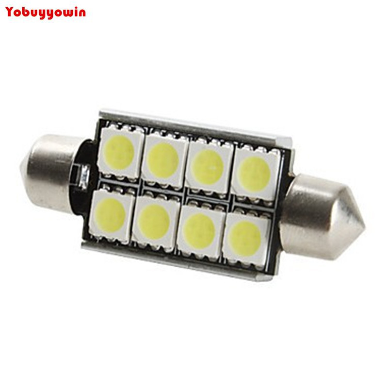 free shipping 10pcs led soffitte canbus 42mm 9 x 5050 smd 10w xenon innenraum beleuchtung in. Black Bedroom Furniture Sets. Home Design Ideas