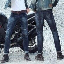 ГОРЯЧИЙ продавать Топ дизайнер известный бренд высококлассные хлопок мужчины джинсы брюки, европейский и Американский стиль байкер джинсы мужчина