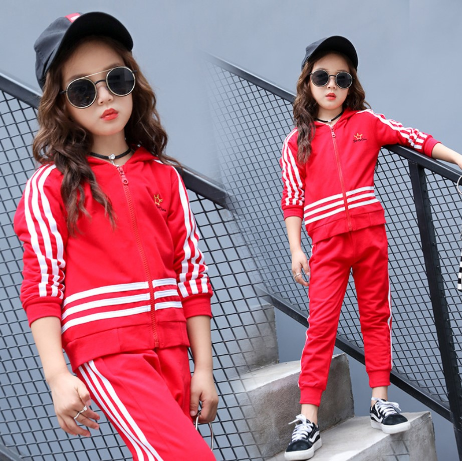 Kids Sport Suits 4-12y Costume Spring Autumn Quality Cotton Tracksuit For Boys School Girl Outfit Two-piece Girls Clothing Set джинсы y two y two yt002emxxr00