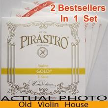 Pirastro tonica para violín cuerdas de nylon (412027), los 2 productos más vendidos en un conjunto, hecho en alemania, envío gratis