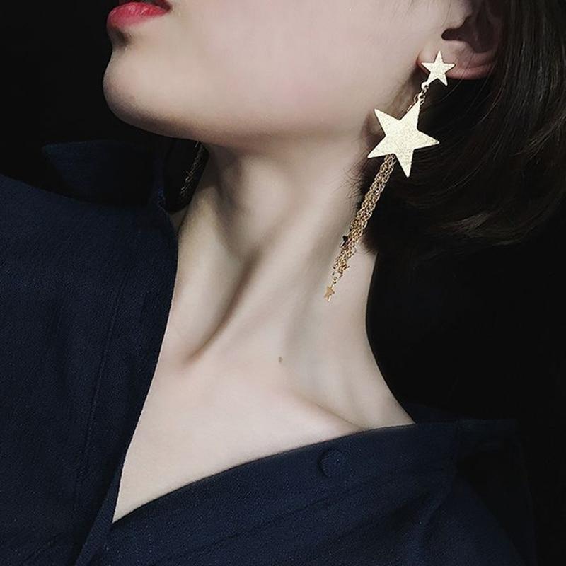 1 Pair Women Girls Ladies Vintage Ethnic Bohemia Luxury Drop Earrings Dangle Long Rope Fringe Long Tassel Earrings Jewelry