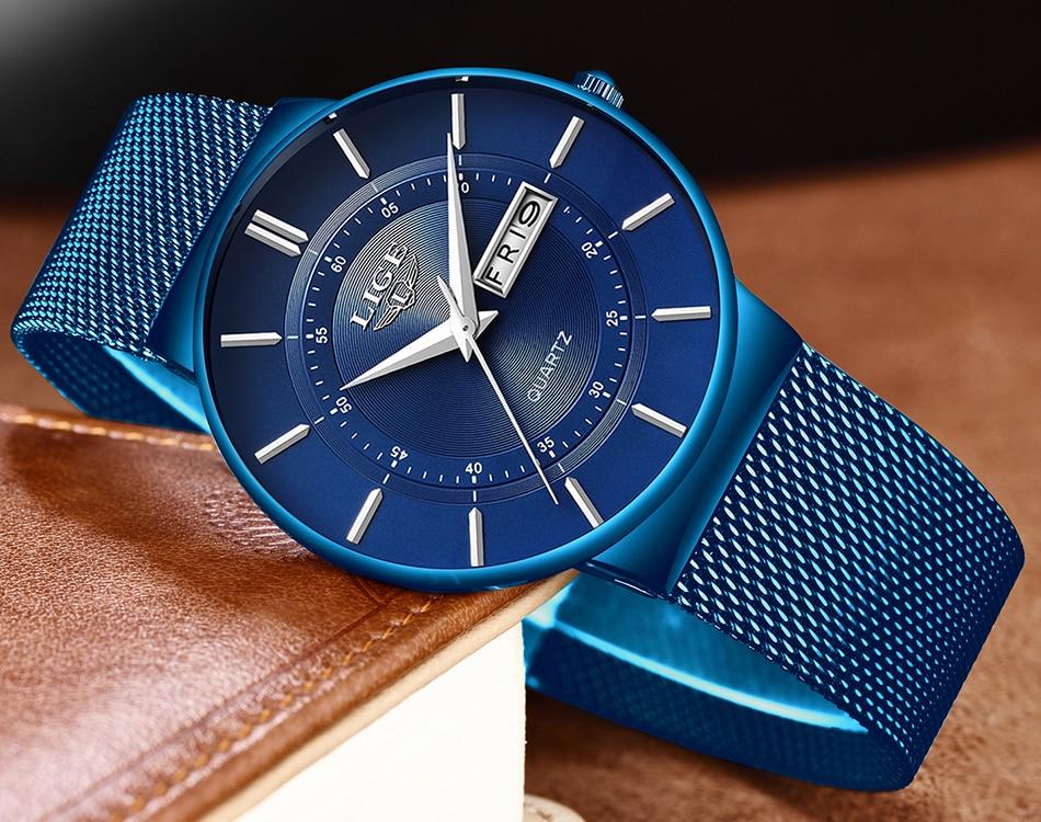 HTB1T9ZSaGSs3KVjSZPiq6AsiVXaM Mens Watches LIGE Top Brand Luxury Waterproof Ultra Thin Date Clock Male Steel Strap Casual Quartz Watch Men Sports Wrist Watch