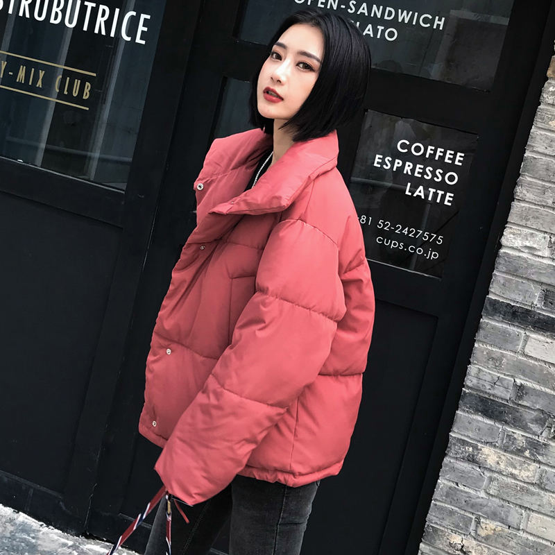 Autumn Winter Jacket Women Coat Fashion Female Stand Winter Jacket Women Parka Warm Casual Plus Size Overcoat Jacket Parkas Q811 17