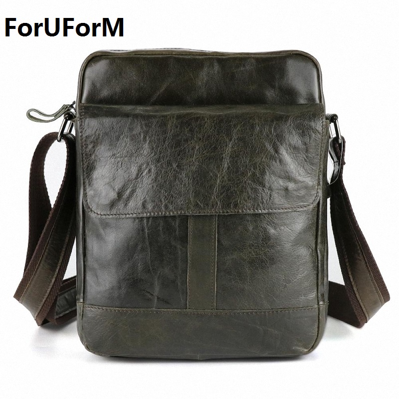Hot selling Men bag 100% Genuine Leather bags men Messenger Bags crossbody Shoulder men's travel bag new Free Shipping LI-861 free shipping dbaihuk golf clothing bags shoes bag double shoulder men s golf apparel bag