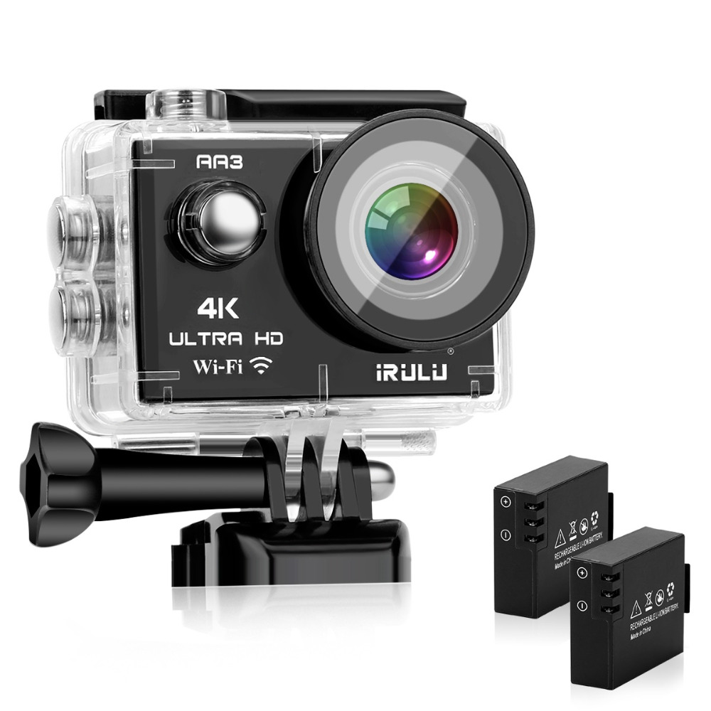 Caméra d'action ZONKO Ultra HD 4 K 16MP WiFi 2.0