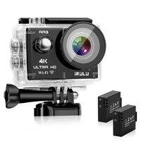 ZONKO Action Camera Ultra HD 4K 16MP WiFi 2.0 170D Underwater Waterproof Helmet Video Recording Cameras Sport Cam