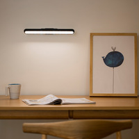 LED USB Rechargeable Under Cabinet Light Stepless Dimming Rotated Bedroom Closet Wardrobe Lamp Eye Care Magnetic Desk Lamps