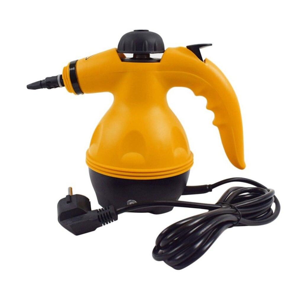 Многофункциональный Электрический пароочиститель Портативный ручной отпариватель бытовой очиститель вложения Кухня Brush Tool