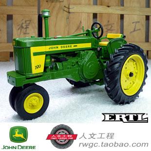 KNL HOBBY J Deere 720 1958 model year vehicle model farm tractor alloy US ERTL 1:16