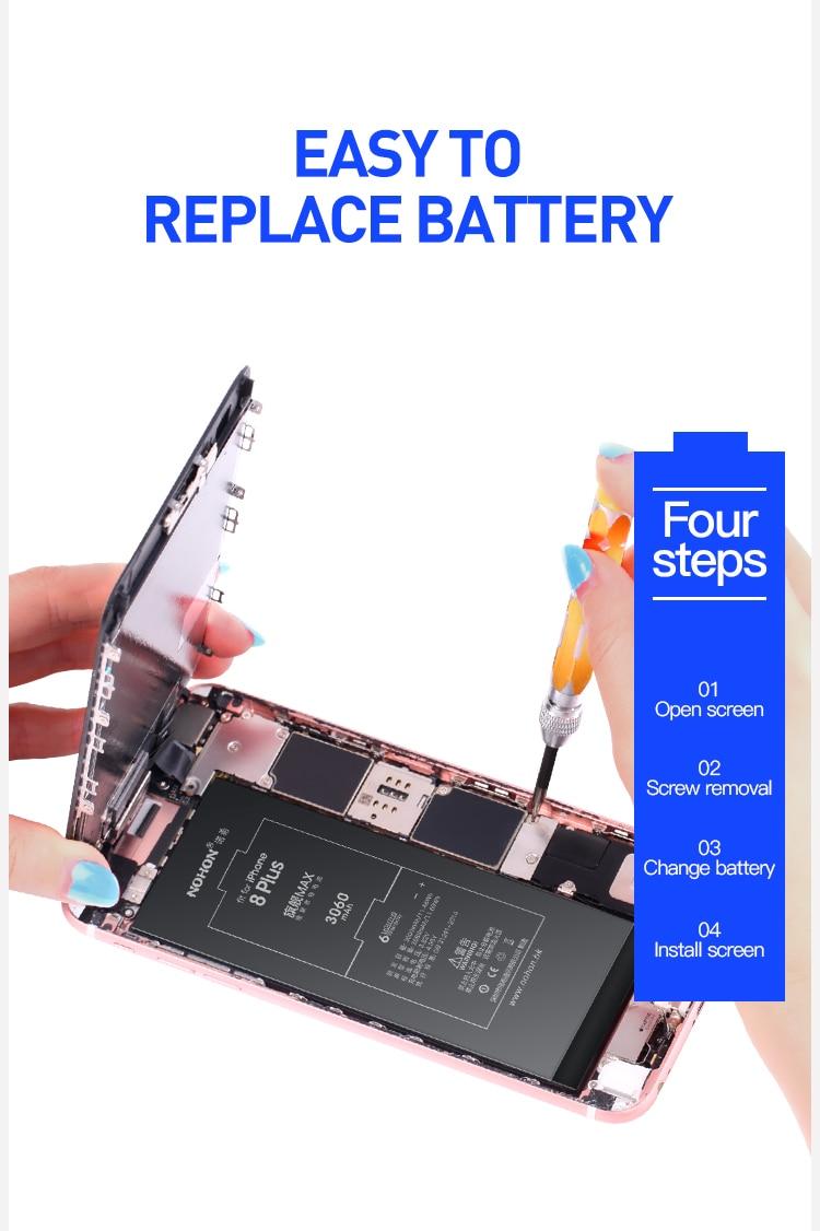For iPhone 8 Plus Battery 3060mAh (2)