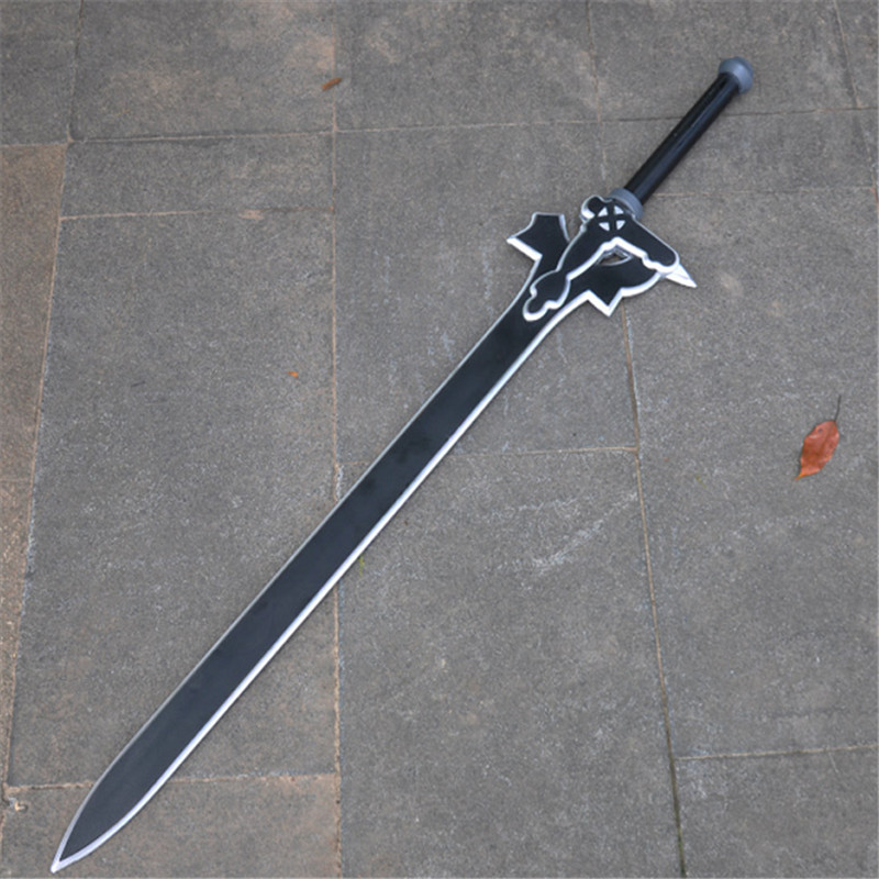80cm SAO Sword Elucidator Sword Art Online 1:1 Kirigaya Kazuto Weapon Action Figure Asun Dark Repulser Cosplay Sword PU Kids Toy