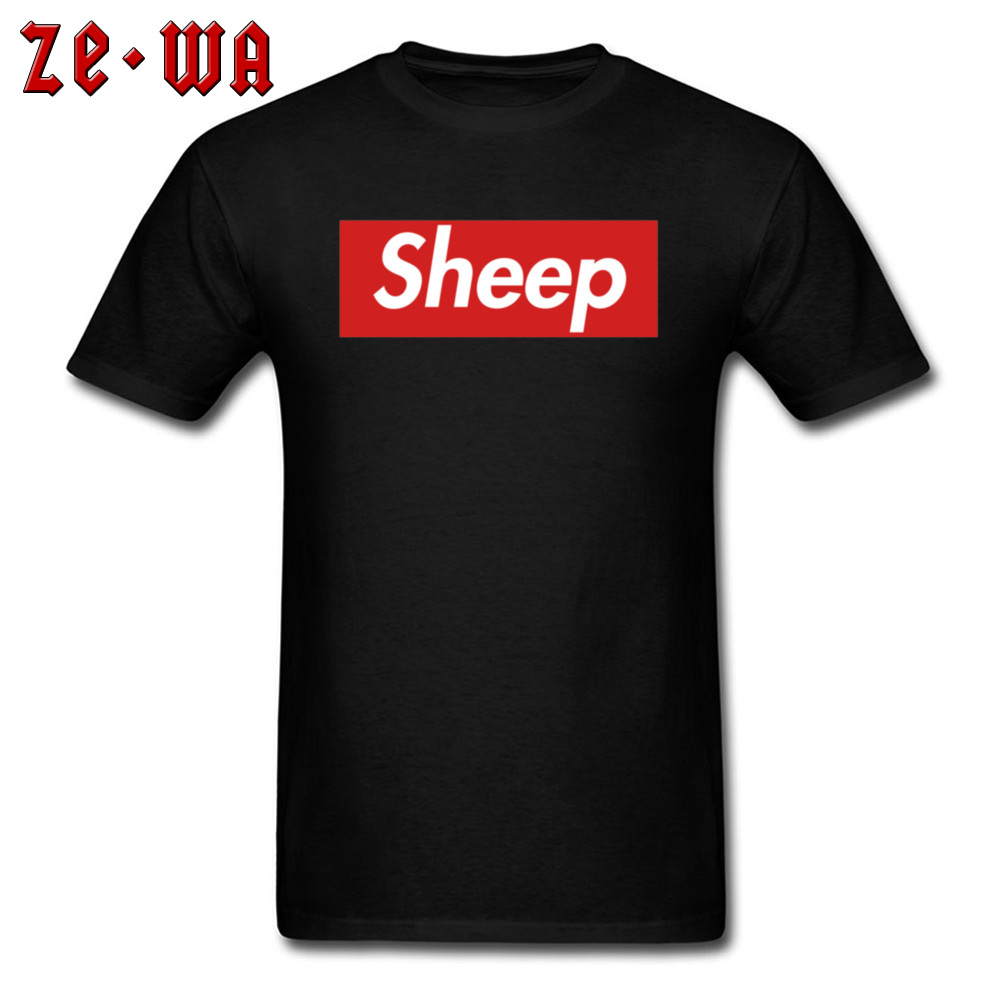 incredible prices many styles quality products US $7.2 41% OFF|Sheep T Shirt Black Red Letter Print Fashion T Shirts  Europe America Plus Size Clothing High Quality Customized T Shirts Bulk-in  ...