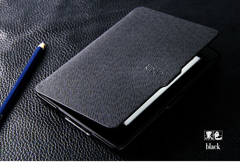 W417 Genuine Microfiber Leather Tablet Sleeves e-book Covers Cases Cor Kindle Paperwhite 1 2 3