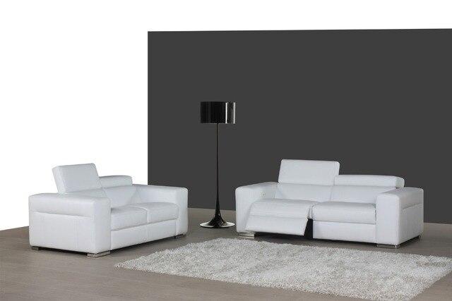 aliexpress.com : acquista mucca genuino/reale divano in pelle set ... - Divano Soggiorno Ad Angolo 2