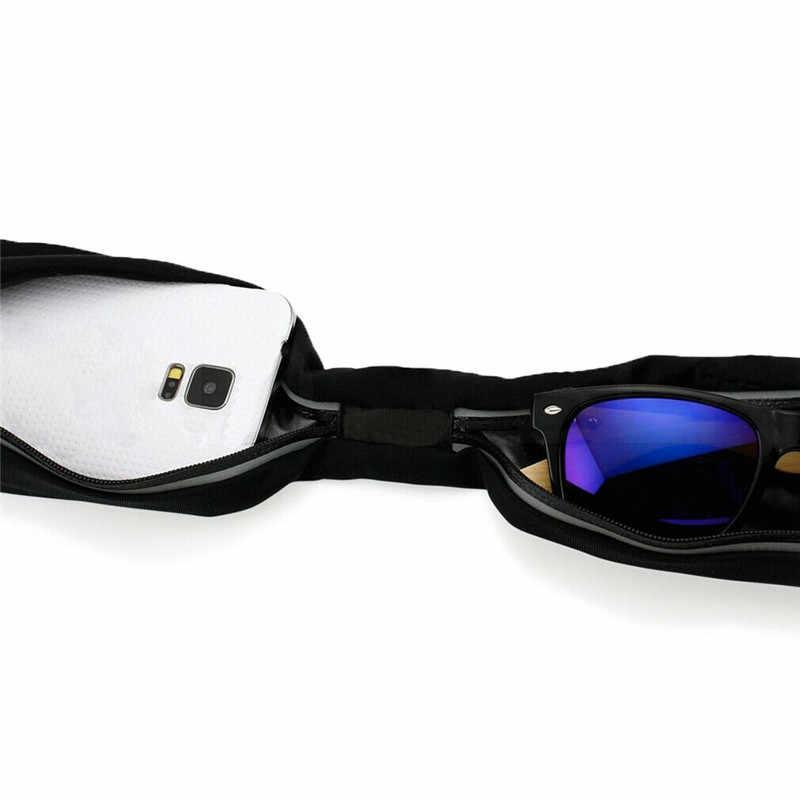 新ユニセックス · ナイロン軽量フィットネスランニングハイキングジョギングサイクリングポーチスポーツファニーパックファッション防水