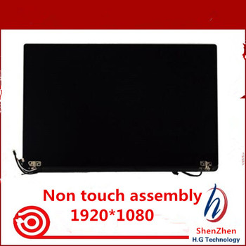 Free shipping 13.3'' Laptop LCD Screen Assembly For Dell XPS 13 9350 Assembly FHD 1920*1080 without Touch Digitizer Replacement