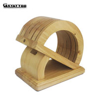 Creative kitchen supplies multifunctional wooden dish knife cutter frame classification storage rack cutter knife Lishui