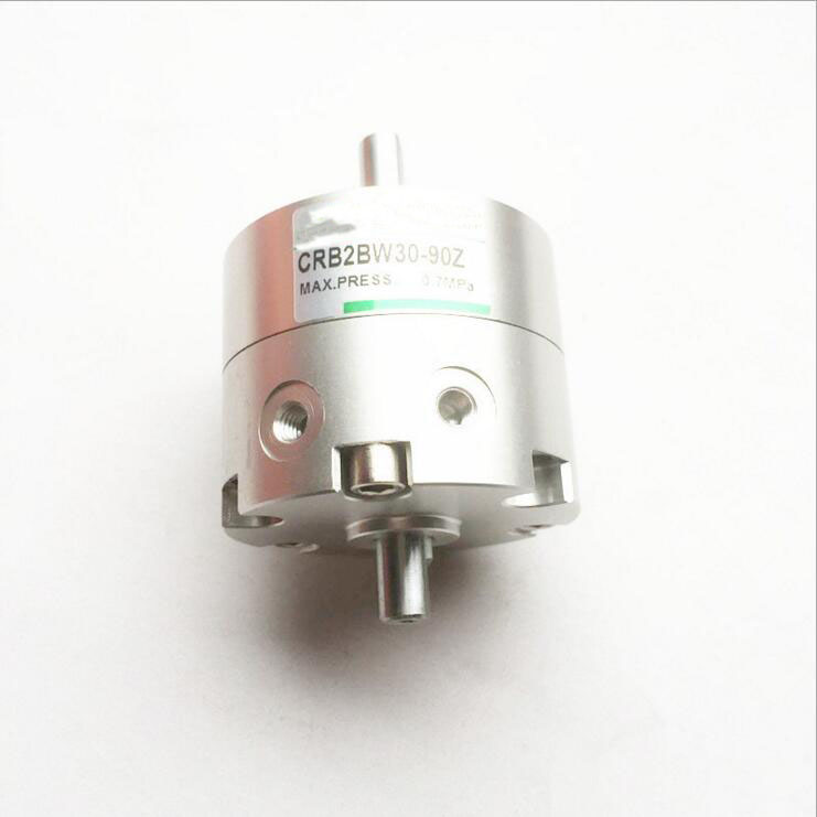 Bore 20mm SMC Type CRB2 series single vane type swing air cylinder angle 90  CRB2BW20-90S high quality double acting pneumatic gripper mhy2 25d smc type 180 degree angular style air cylinder aluminium clamps
