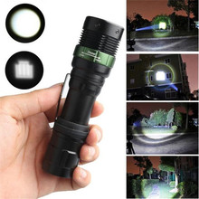 Sky Wolf Eye 3500 Lumens 3 Modes Q5 LED Zoomable 18650 Flashlight Waterproof Cycling Bicycle Bike Front Hand Torch Light