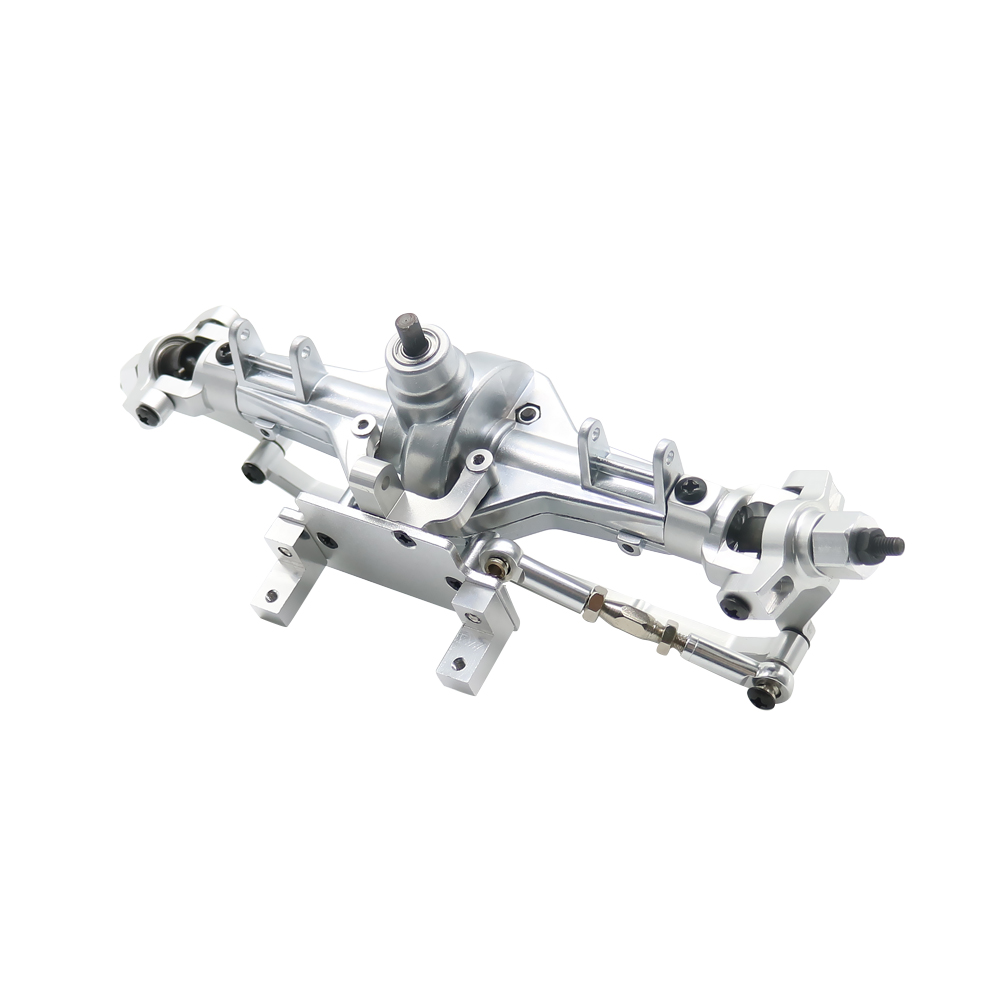 RCAWD Alloy Front Gear Box With Steel Gears Assembly For 1 10 Hsp Rock Crawler 94180