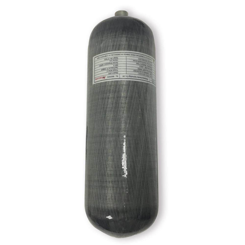 AC1090 9L Mini Cylinder For Diving 30Mpa Pcp Scuba Cylinder Pressure Tank Mini Scuba Tank Paintball Tank Composite Acecare Tank