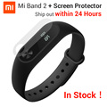 2016.6 Newest Original Xiaomi Mi Band 2 Miband Bracelet with Smart Heart Rate Fitness Touchpad OLED Screen for Xiomi mi band