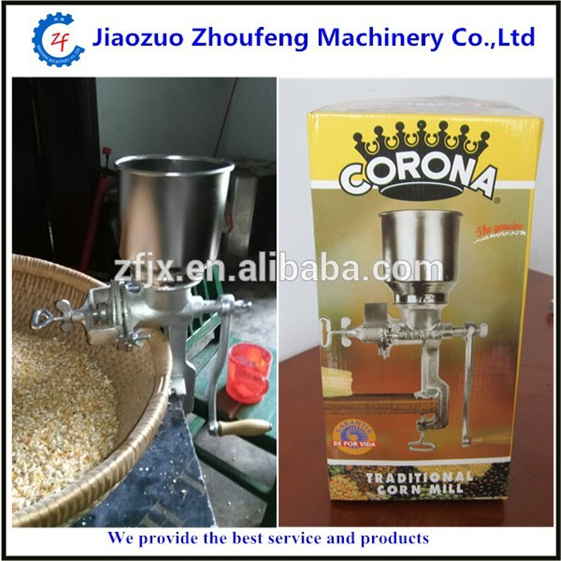 Corn crusher home use wheat soybeans coffee bean cocoa bean pepper grinder ZF corn flour mill rice milling machine home use manual pepper soybean wheat coffee bean grinder grinding machine zf