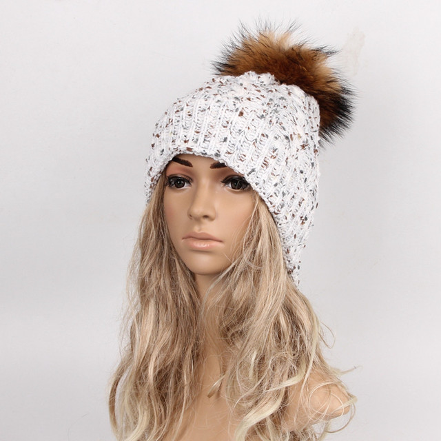 Brand 2016 Women Spring Winter Hats Beanies Knitted Cap Crochet Hat Wool Knit Hemming Warm Cap 2016