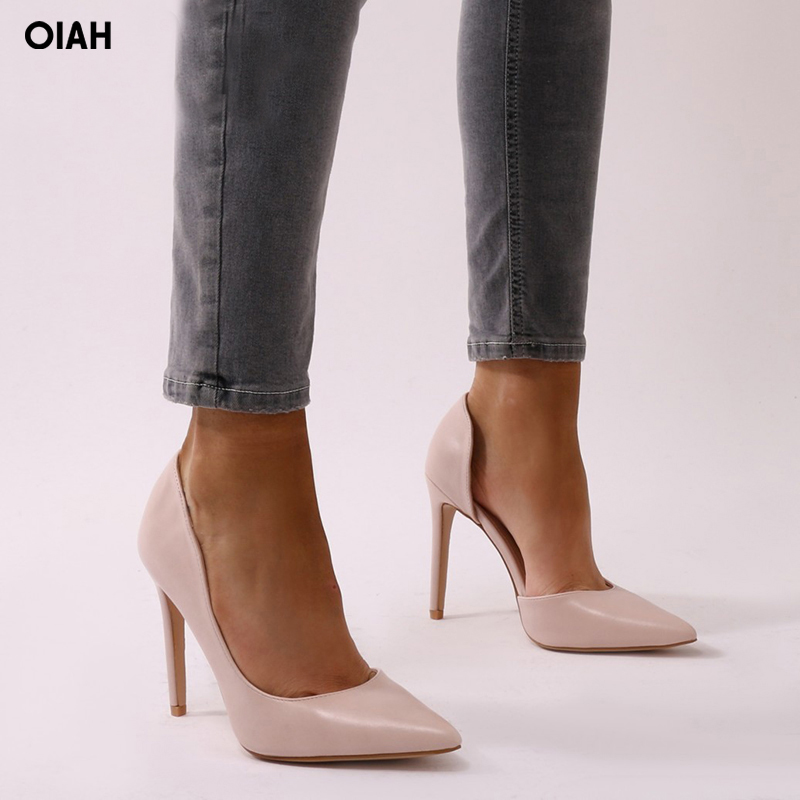 Women Pumps Sexy Open Toe Lace Fashion Pointed Toe High Heels New Style Shallow Classic Spring Autumn Single Shoes Ladies xiaying smile new spring autumn women pumps british style fashion casual lace shoes square heel pointed toe canvas rubber shoes