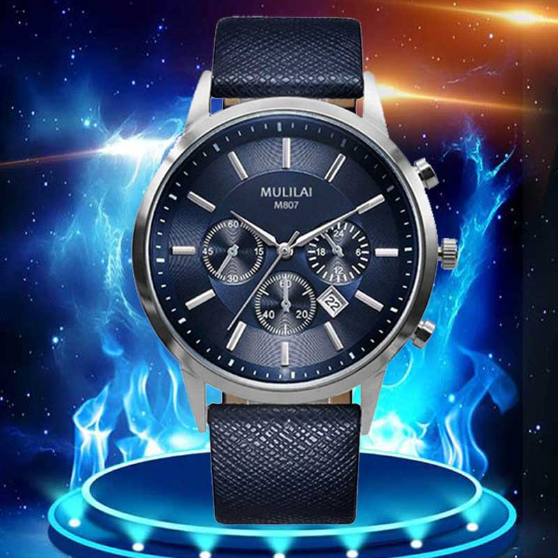 Fashion Sport Mens Watches Top Brand Luxury Men's Watch Leather clock relogio masculino reloj hombre relojes quartz Wrist Watch цена