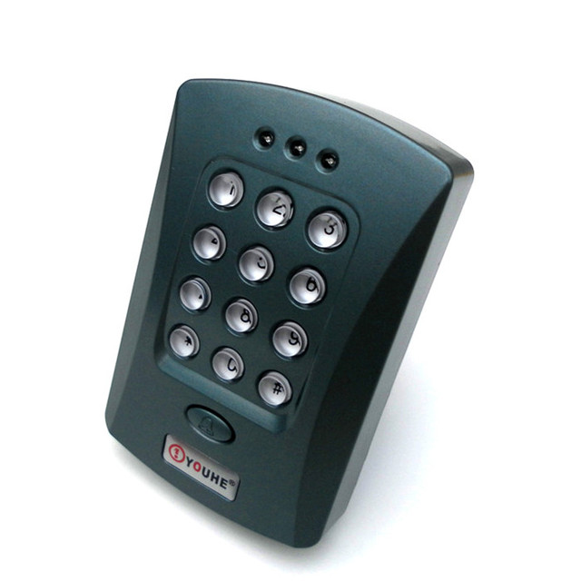 Single Door Entry Access Control Keypad And RFID Card Reader Access Control  +1000 Users